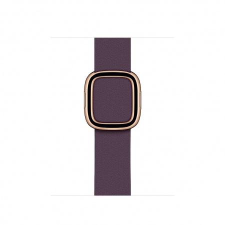 Apple Watch 40mm Band:  Aubergine Modern Buckle - Medium