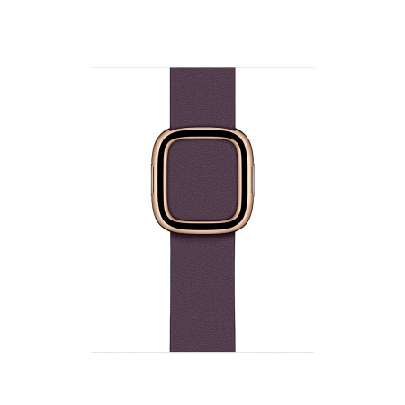 Apple Watch 40mm Band:  Aubergine Modern Buckle - Large