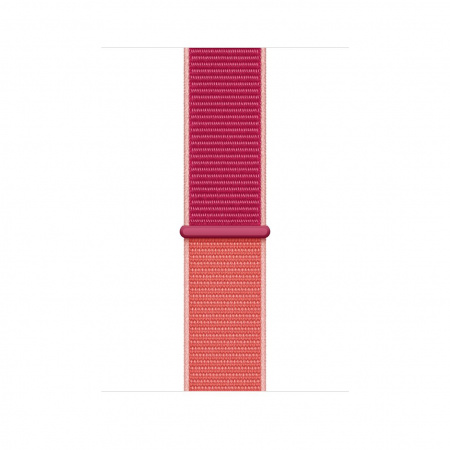 Apple Watch 44mm Band: Pomegranate Sport Loop