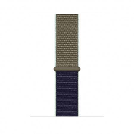 Apple Watch 44mm Band: Khaki Sport Loop