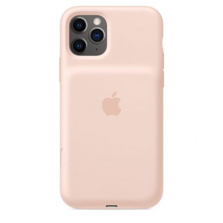 Apple iPhone 11 Pro Smart Battery Case with Wireless Charging - Pink Sand