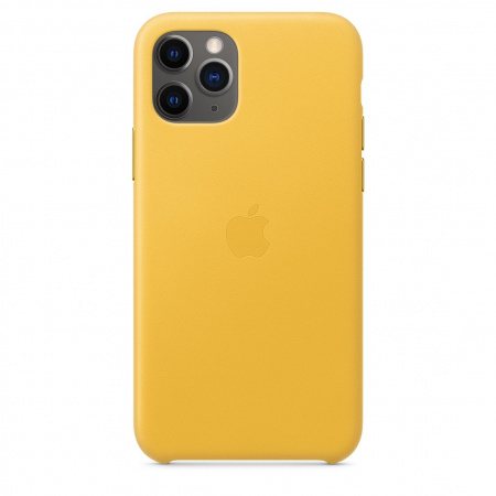 Apple iPhone 11 Pro Leather Case - Meyer Lemon (Seasonal Autumn 2019)