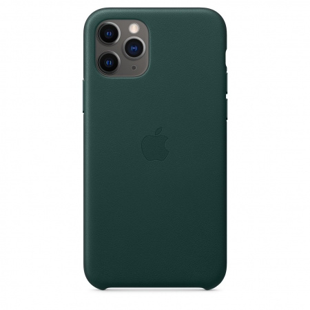 Apple iPhone 11 Pro Leather Case - Forest Green (Seasonal Autumn 2019)