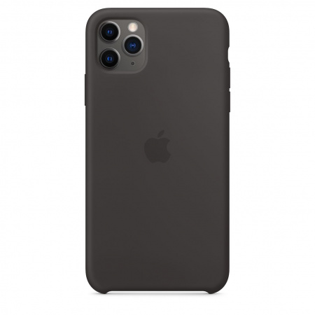 Apple iPhone 11 Pro Max Silicone Case - Black
