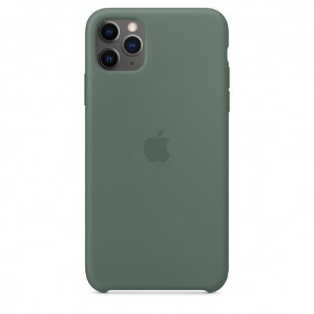 Apple iPhone 11 Pro Max Silicone Case - Pine Green (Seasonal Autumn 2019)