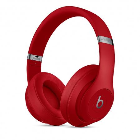 Beats Studio3 Wireless Over-Ear Headphones - Red