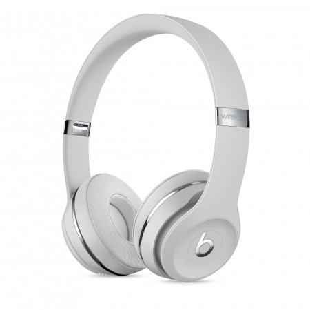 Beats Solo3 Wireless Headphones - Satin Silver