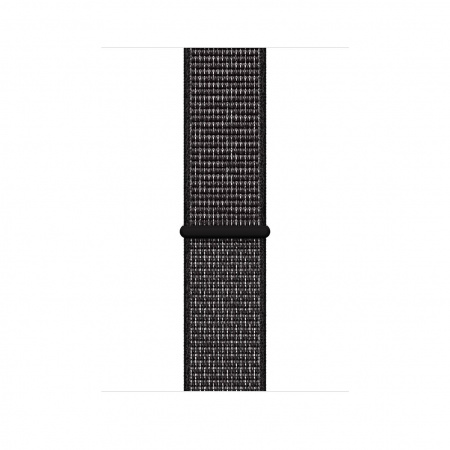 Apple Watch 44mm Nike Band:Black Nike Sport Loop