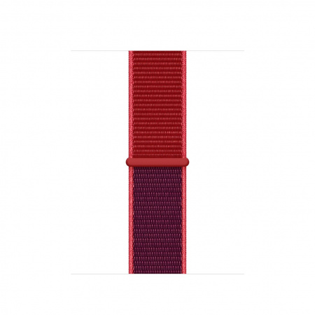 Apple Watch 40mm Band: (PRODUCT)RED Sport Loop