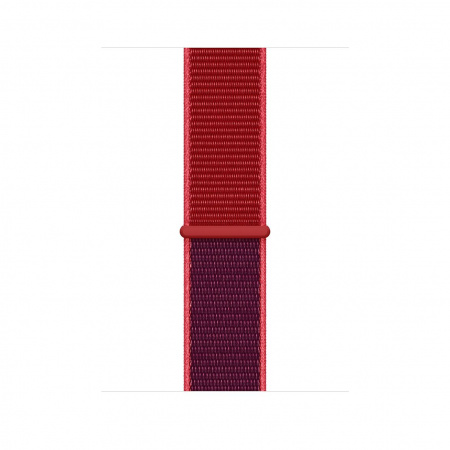 Apple Watch 44mm Band: (PRODUCT)RED Sport Loop