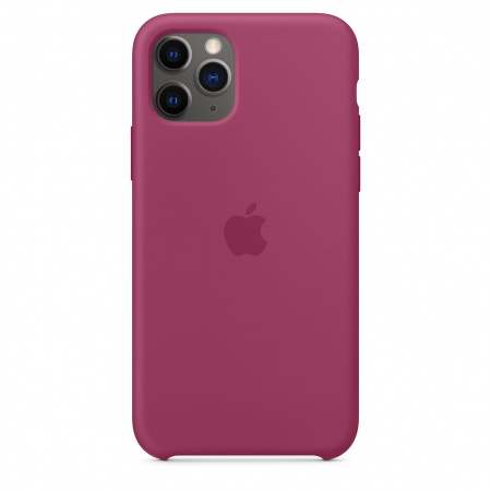 Apple iPhone 11 Pro Silicone Case - Pomegranate (Seasonal Winter2019)