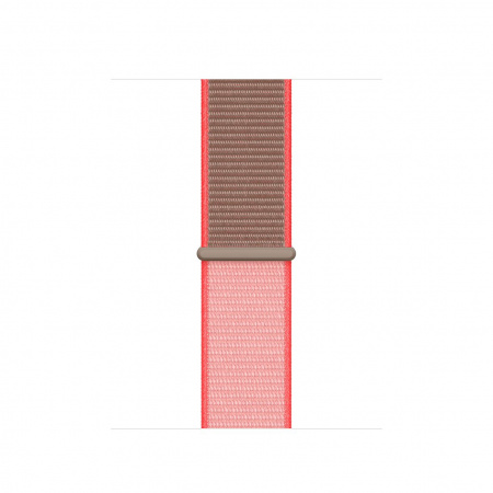 Apple Watch 40mm Band:  Neon Pink Sport Loop (Seasonal Spring2020)
