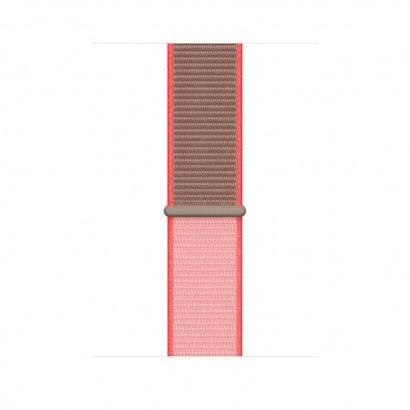 Apple Watch 44mm Band:  Neon Pink Sport Loop (Seasonal Spring2020)
