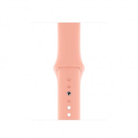 Apple Watch 40mm Band:  Grapefruit Sport Band - Regular (Seasonal Spring2020)