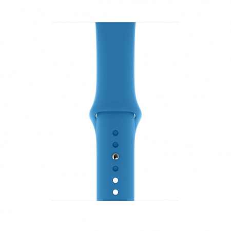 Apple Watch 44mm Band:  Surf Blue Sport Band - Regular (Seasonal Spring2020)