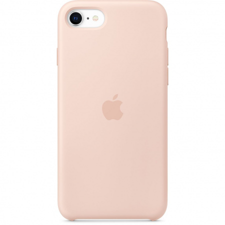 Apple iPhone SE2 Silicone Case - Pink Sand