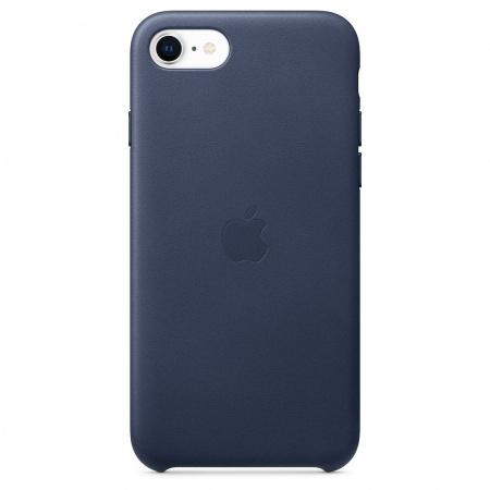 Apple iPhone SE2 Leather Case - Midnight Blue