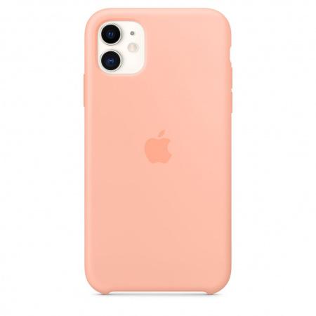 Apple iPhone 11 Silicone Case - Grapefruit (Seasonal Spring2020)