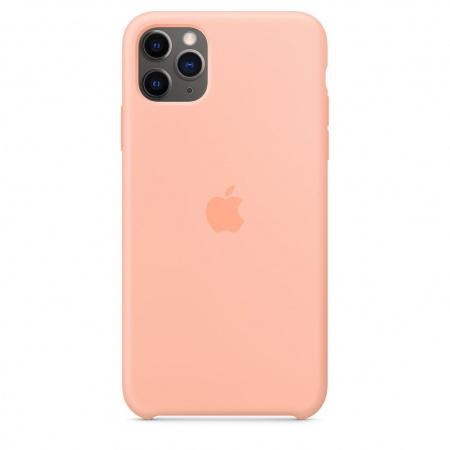 Apple iPhone 11 Pro Max Silicone Case - Grapefruit (Seasonal Spring2020)