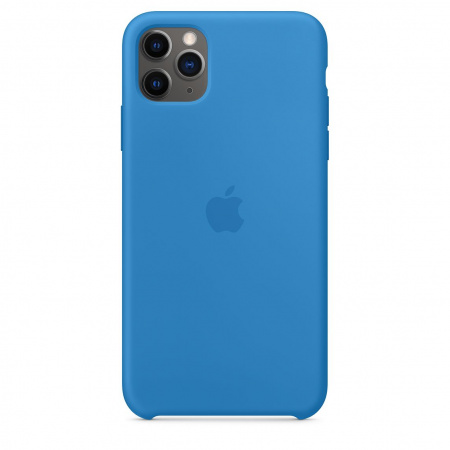 Apple iPhone 11 Pro Max Silicone Case - Surf Blue (Seasonal Spring2020)
