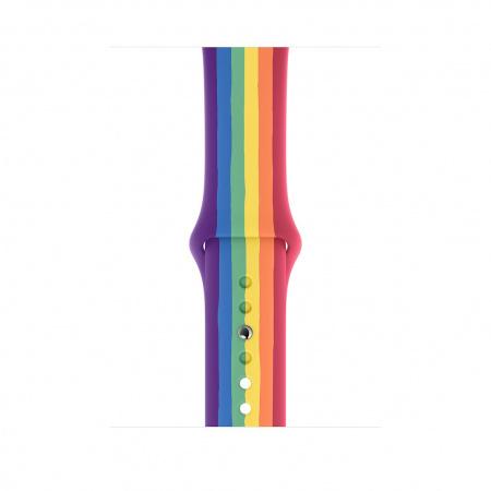 Apple Watch 44mm Band:  Pride Edition Sport Band - Regular