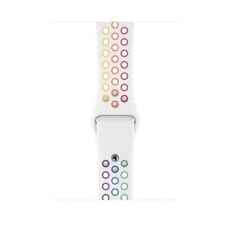 Apple Watch 44mm Nike Band:  Pride Edition Nike Sport Band - Regular