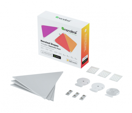 Nanoleaf Shapes Triangles Expansion Pack 3PK