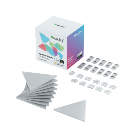 Nanoleaf Shapes Triangles Mini Expansion Pack 10PK