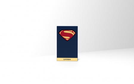 Tribe DC Movie Superman 4000mAh Power Bank - Blue