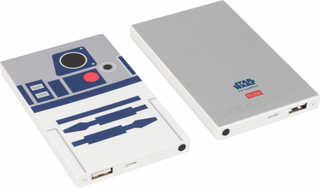 Tribe Star Wars R2D2 4000mAh Power Bank - White