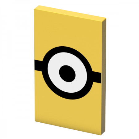 Tribe Minions Carl 4000mAh Power Bank - Yellow