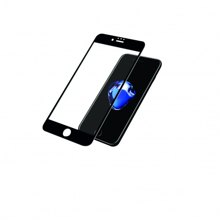 PanzerGlass Screen Protector Glass Edge-to-Edge (Case Friendly) for Apple iPhone 6/6s/7/8 Black