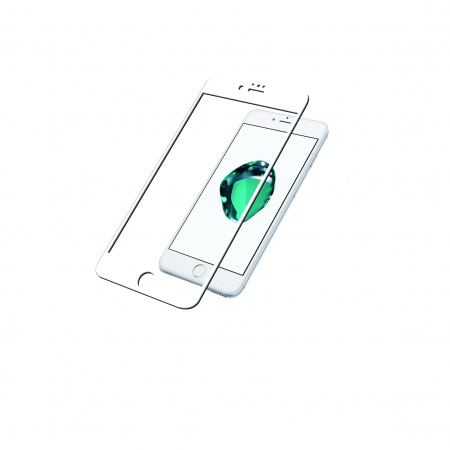 PanzerGlass Screen Protector Glass Edge-to-Edge (Case Friendly) for Apple iPhone 6/6s/7/8 White