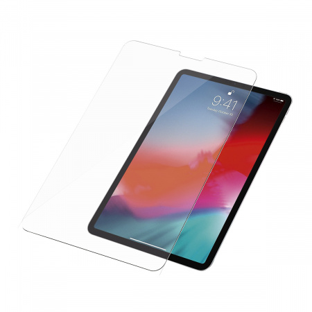 "PanzerGlass Screen Protector Glass Edge-to-Edge for Apple iPad for 11""(2018) Transparent"