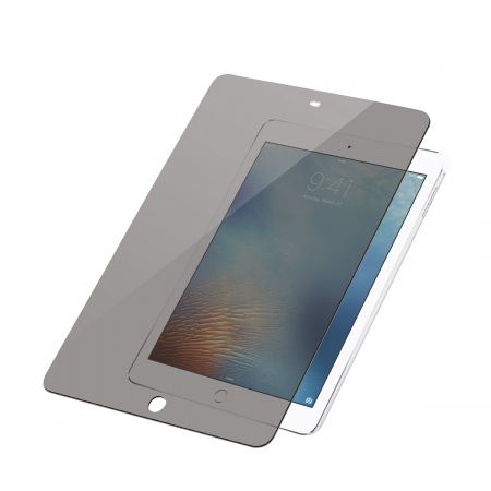 PanzerGlass Screen Protector Glass Edge-to-Edge Privacy for Apple iPad/Air/for 9.7 Transparent
