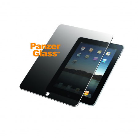 PanzerGlass Screen Protector Glass Edge-to-Edge Privacy for Apple iPad for 12.9 Transparent