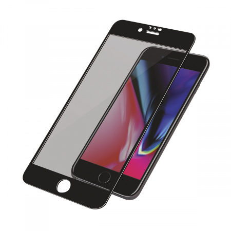 PanzerGlass Screen Protector Glass Premium Privacy for Apple iPhone 6/6s/7/8 Black