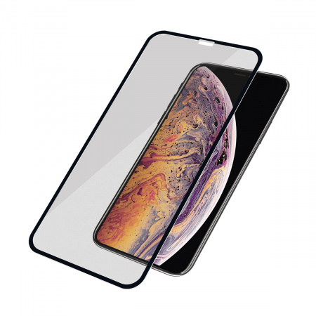 PanzerGlass Screen Protector Glass Edge-to-Edge Privacy for Apple iPhone Xs Max Black