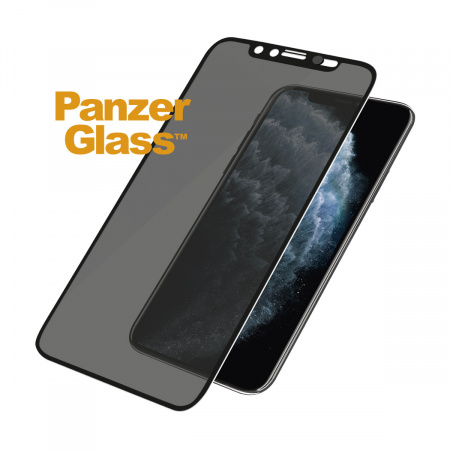 PanzerGlass Edge-to-Edge Privacy Apple iPhone X/Xs/11 Pro Black w CamSlider