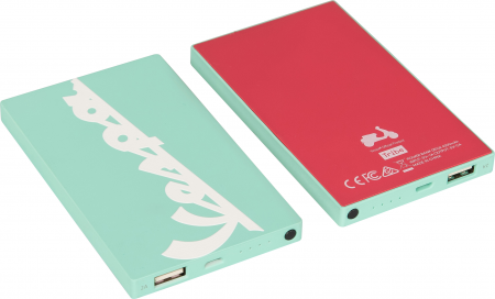 Tribe Vespa 4000mAh Power Bank - Acquamarine