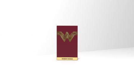 Tribe DC Movie Wonder Worman 4000mAh Power Bank - Red