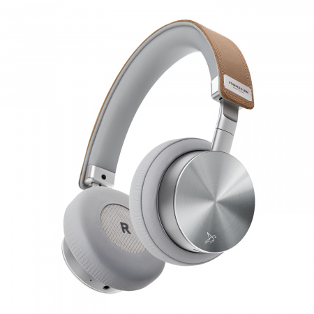Vonmahlen Wireless Concert One Bluetooth On-Ear Headphone - Silver