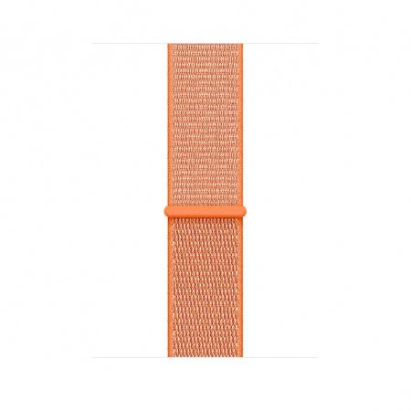Apple Watch 38mm Band: Spicy Orange Sport Loop