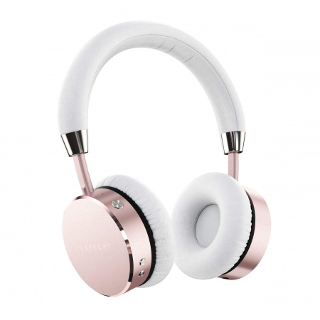 Satechi Aluminum Wireless BT Headphones - Rose Gold