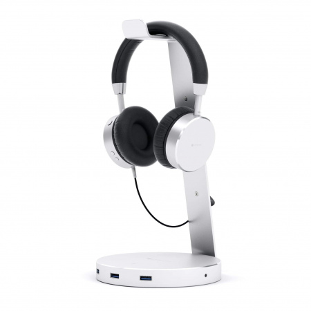 Satechi Aluminum Headphone Stand - Silver