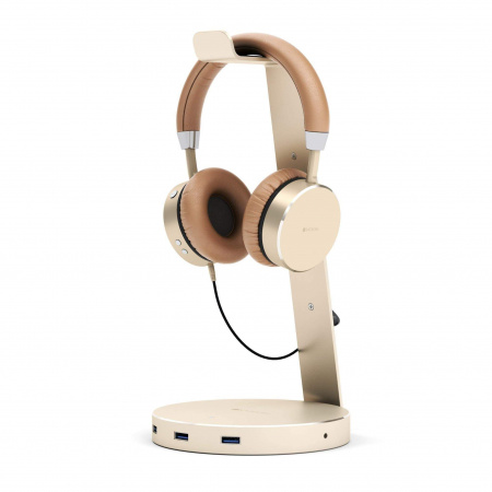 Satechi Aluminum Headphone Stand - Gold