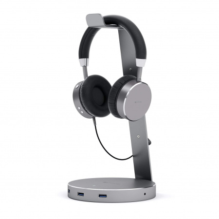 Satechi Aluminum Headphone Stand - Space Gray