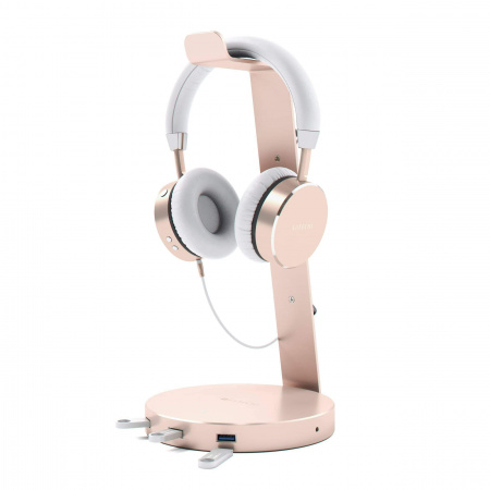 Satechi Aluminum Headphone Stand - Rose Gold