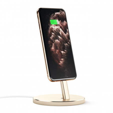 Satechi Aluminum Mobile Lightning Dock - Gold