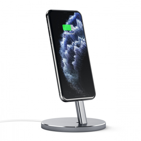 Satechi Aluminum Mobile Lightning Dock - Space Gray
